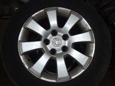 "VAUXHALL ASTRA H   ALLOY WHEEL  15""  INC TYRE  8 SPOKE TYPE"